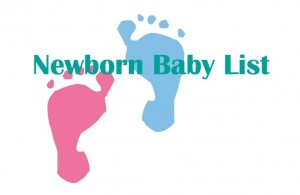 Your Newborn Baby List